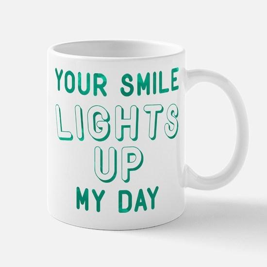 Your Smile Lights Up My Day Mug