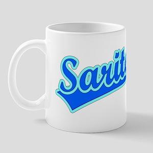 Retro Sarita (Blue) Mug