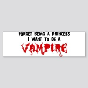 I Want to be a Vampire Bumper Sticker
