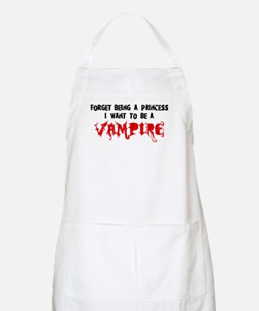 I Want to be a Vampire BBQ Apron