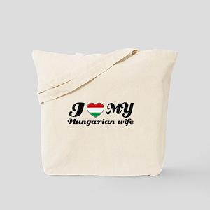 I love my Hungarian Wife Tote Bag