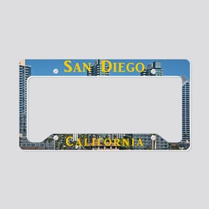 San Diego License Plate Holder