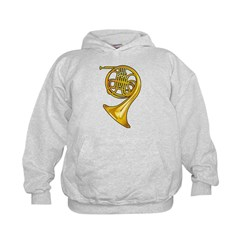 Brass French Horn Hoodie
