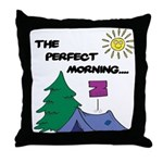 The perfect morning Throw Pillow