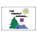 The perfect morning Banner