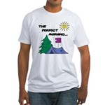 The perfect morning Fitted T-Shirt