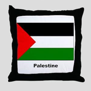 Palestine Palestinian Flag Throw Pillow