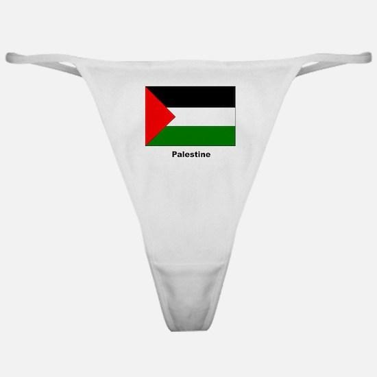 Palestine Palestinian Flag Classic Thong