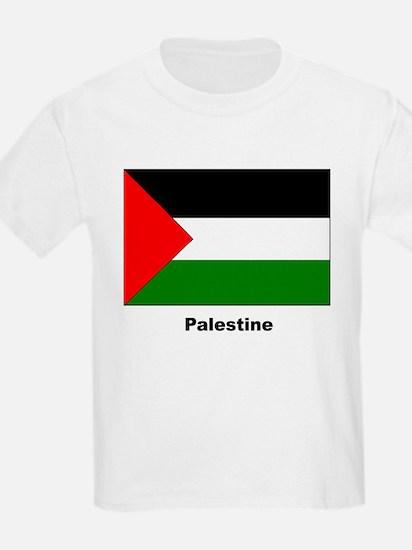 Palestine Palestinian Flag (Front) Kids T-Shirt