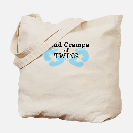 New Grampa Twin Boys Tote Bag