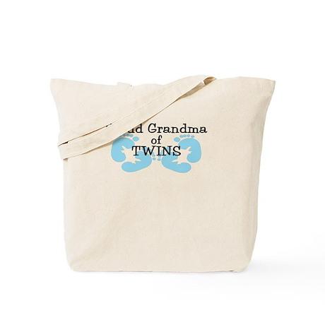 New Grandma Twin Boys Tote Bag