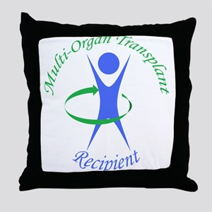 Multi-Organ Transplant Recipi Throw Pillow