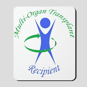 Multi-Organ Transplant Recipi Mousepad