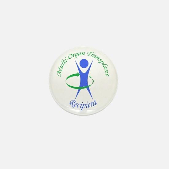 Multi-Organ Transplant Recipi Mini Button