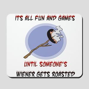 Roasted Wiener Mousepad
