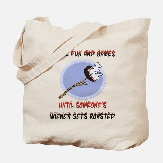 Roasted Wiener Tote Bag