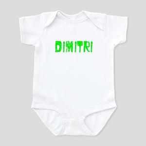 Dimitri Faded (Green) Infant Bodysuit