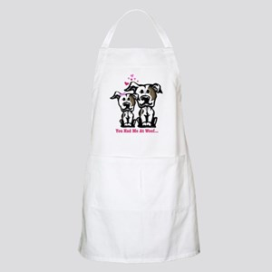 You Had Me at Woof Pit Bull BBQ Apron