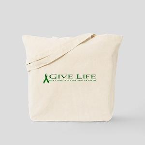 Give Life Tote Bag