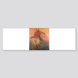 French Country Rooster Bumper Sticker