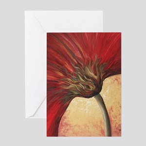 Power of Red Greeting Card