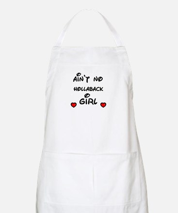AINT NO HOLLABACK GIRL WITH HEART BBQ Apron