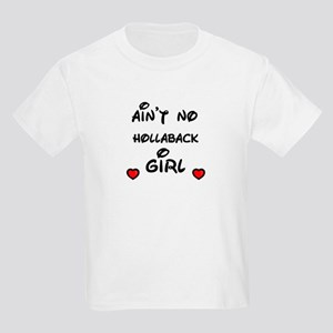 AINT NO HOLLABACK GIRL WITH HEART Kids T-Shirt