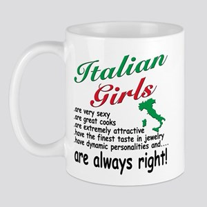 Italian Girls Mug