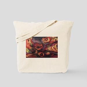 Floral Sun Worship Tote Bag