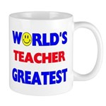 """WORLD'S GREATEST TEACHER"" Mug"