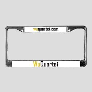 Wu Quartet License Plate Frame