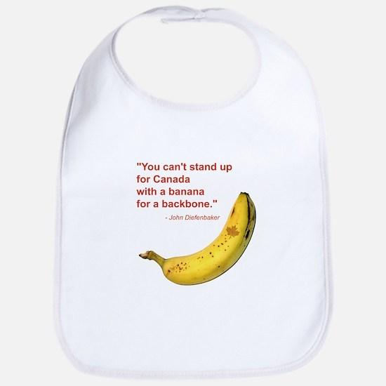 Banana Backbone Bib