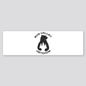 Sun Valley - Ketchum - Idaho Bumper Sticker