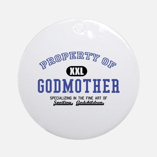 Property of Godmother Ornament (Round)