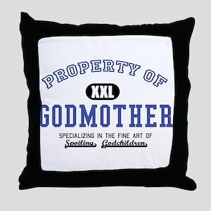 Property of Godmother Throw Pillow