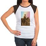 Cowgirl Sue Women's Cap Sleeve T-Shirt