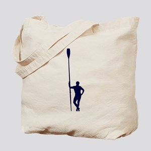 READY TO ROW BLUE Tote Bag