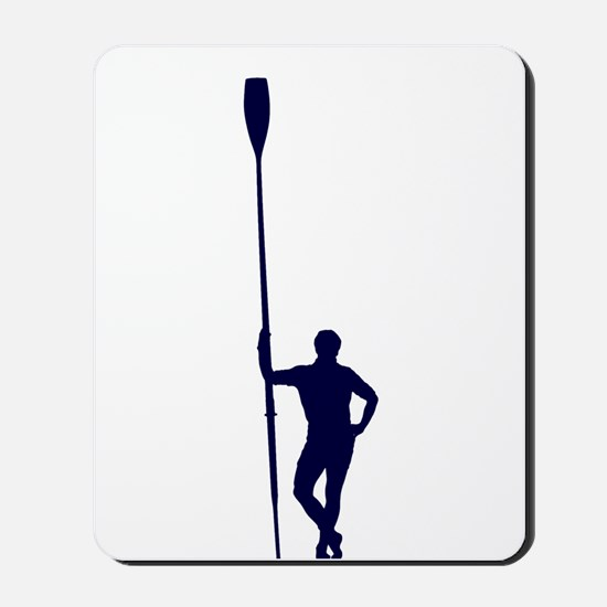 READY TO ROW BLUE Mousepad