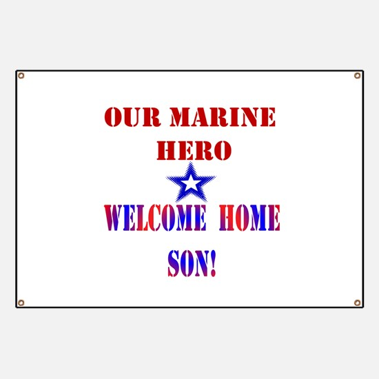 Welcome Home Son Banner