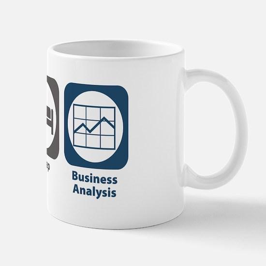 Eat Sleep Business Analysis Mug