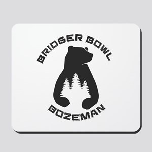 Bridger Bowl - Bozeman - Montana Mousepad