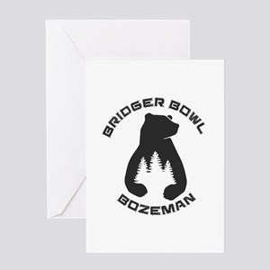 Bridger Bowl - Bozeman - Montana Greeting Cards