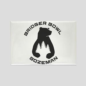 Bridger Bowl - Bozeman - Montana Magnets