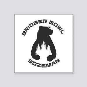 Bridger Bowl - Bozeman - Montana Sticker