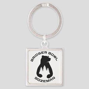 Bridger Bowl - Bozeman - Montana Keychains