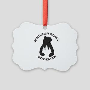 Bridger Bowl - Bozeman - Montan Picture Ornament