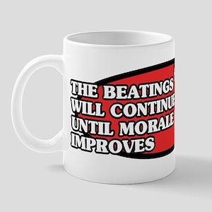 Beatings will Continue Mug