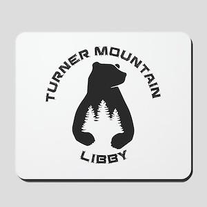 Turner Mountain - Libby - Montana Mousepad