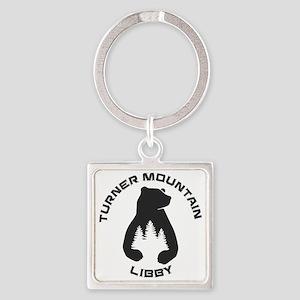 Turner Mountain - Libby - Montana Keychains