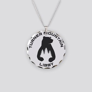Turner Mountain - Libby - Necklace Circle Charm